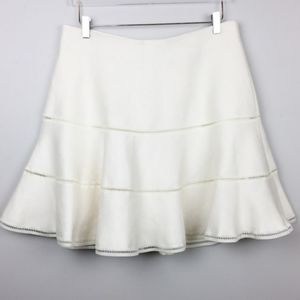 Plus sz creamy color skirt from Torrid.